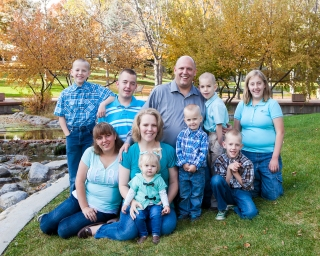 Ammon and Heather Nelson Family